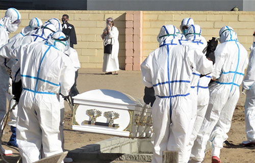 Govt calls for speedy burials… as Coviddeaths near 1000