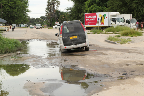 CEO blames potholes on poor gravel