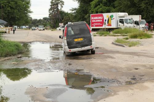 CEO blames potholes on poor gravel