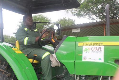 Masule breaks gender barrier to become first female tractor operator in Zambezi