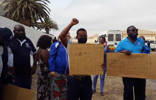 NFCPT workers demand better pay