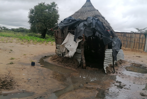 Families left devasted after heavy rains