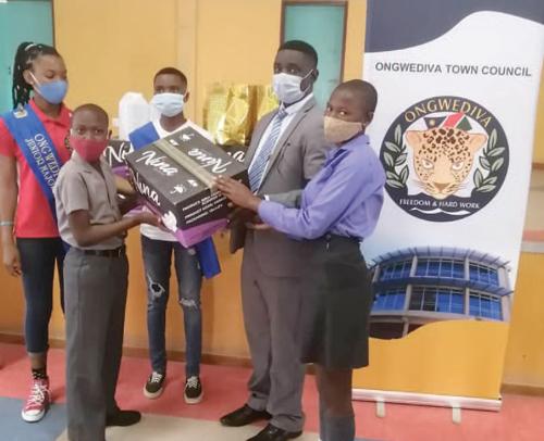 Ongwediva junior council donates to northern schools