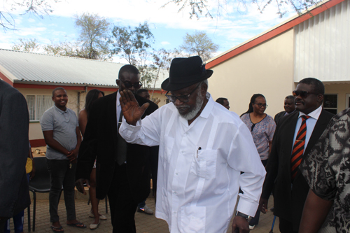 Nujoma doing well, says Presidency