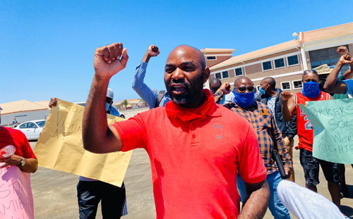 Mineworkers want ex-colleagues reinstated