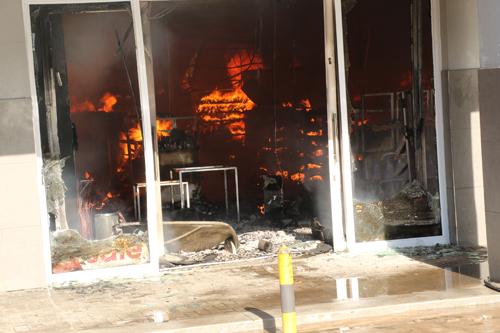 Fire razes Katima shopping complex