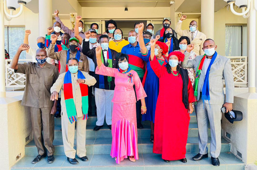 Swapo can't afford infighting - Shaningwa