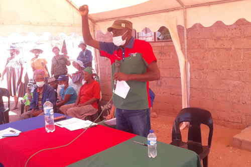 Swapo seeks to capture Aroab