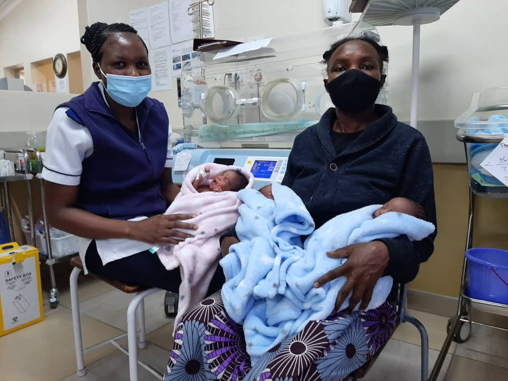 Triplets bring woman's children count to 10