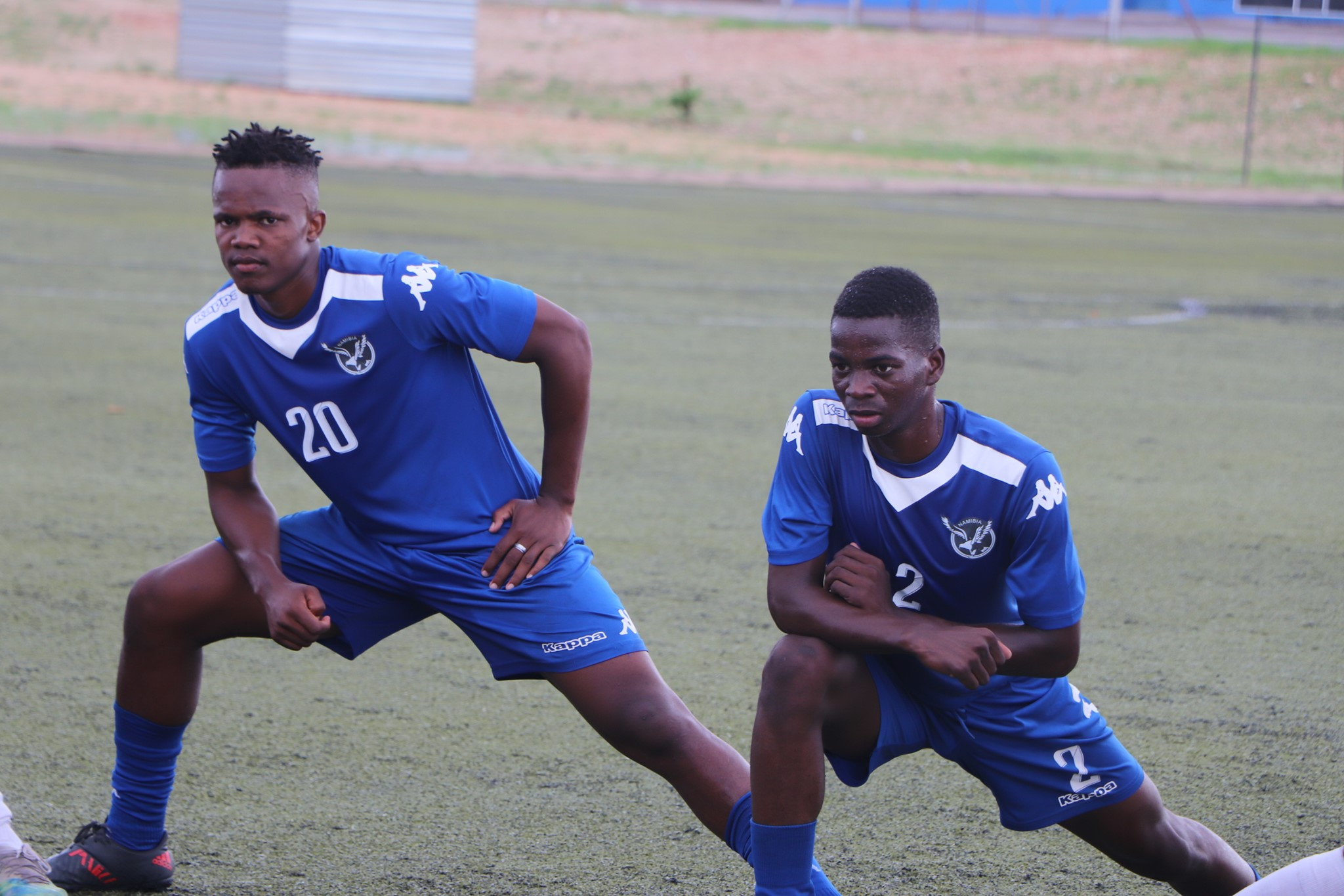 Young Warriors get down to work in Mauritania