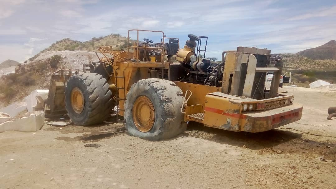 Man dies in accident involving front-end loader