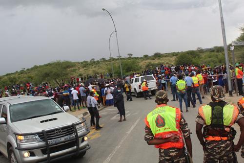 Land grabbers advance on Otjomuise