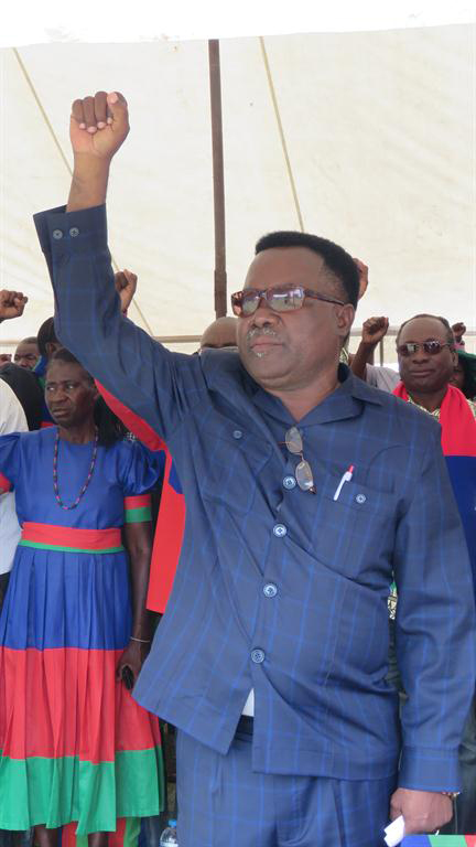 Swapo slams excessive force, 'starvation wages'