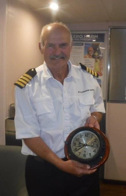 Debmarine Namibia bids farewell to Captain Marek