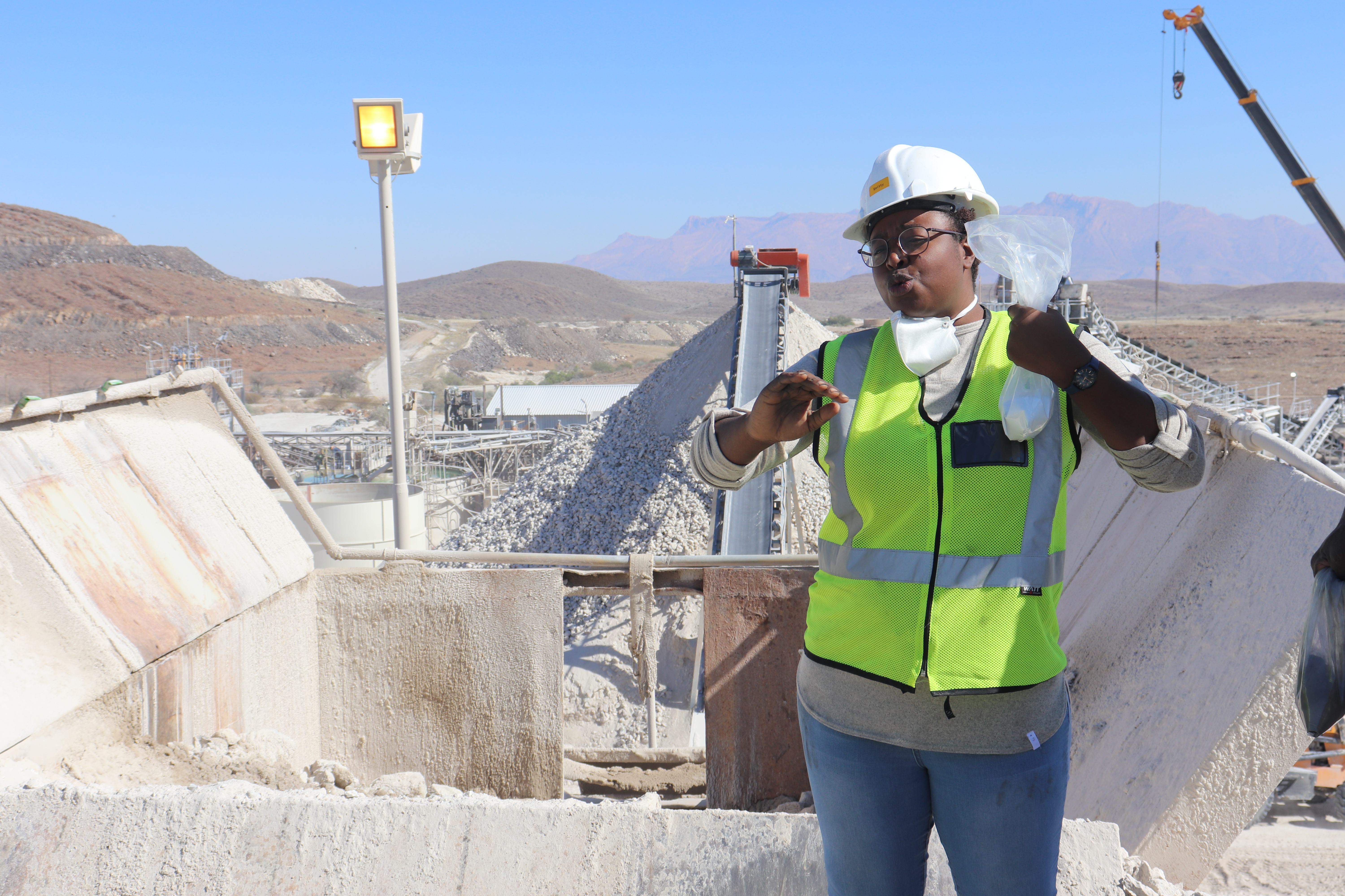 Mutenda overcomes challenges as a woman in mining