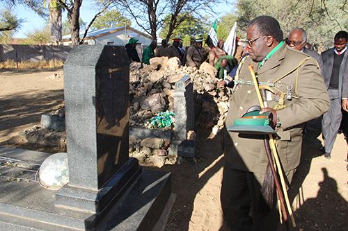 Botswana chief mourns Nguvauva