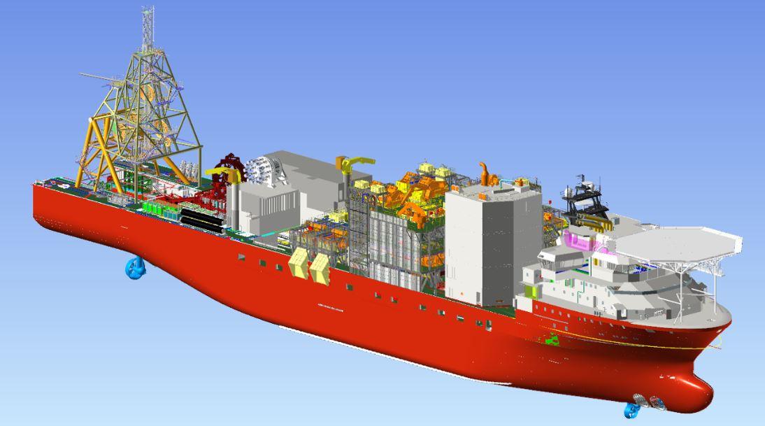Debmarine Namibia's new N$7 billion vessel expected soon