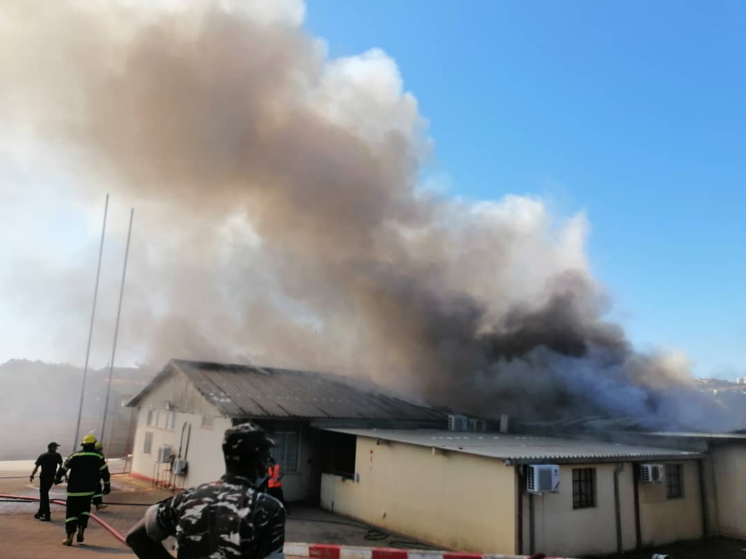 Defence probes military hospital fire