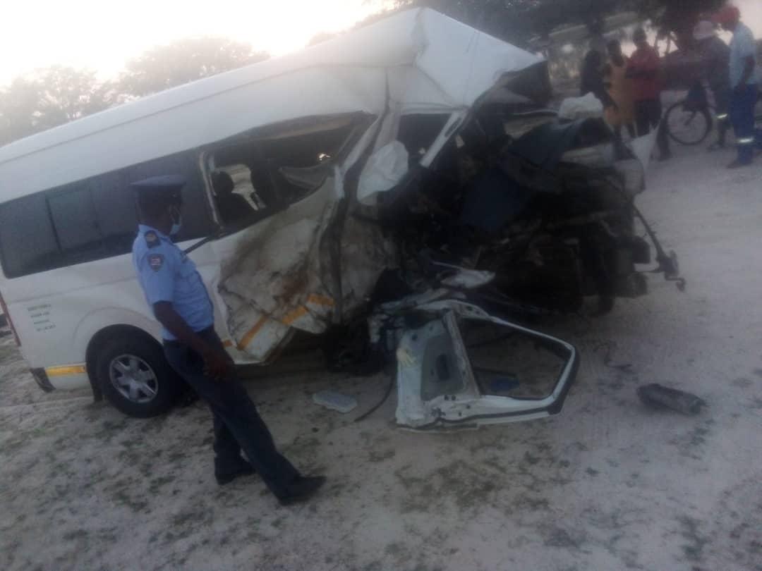 Two die in horrific Omusati crash