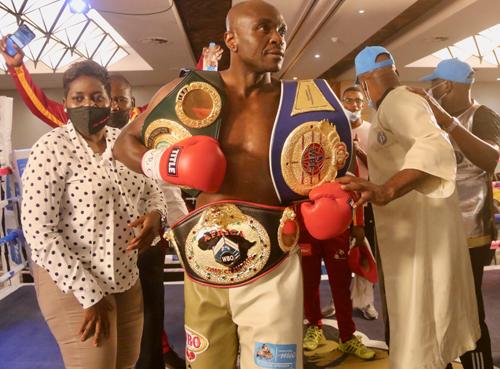 Ndafoluma crowned new WBO champion…as slick Kakololo reigns supreme