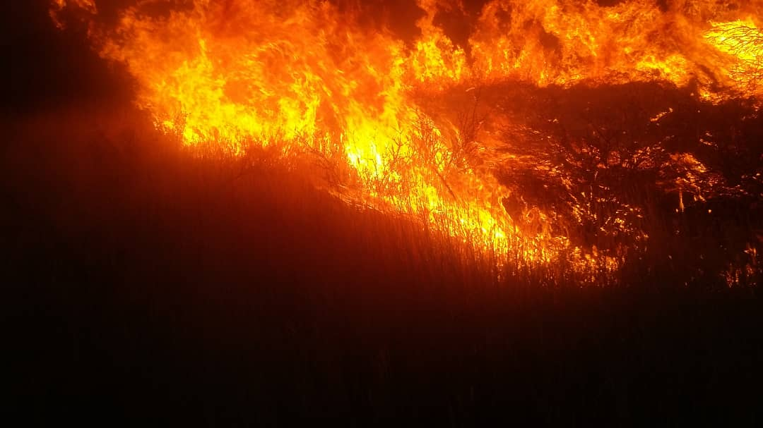 Army called in to fight Dordabis fire