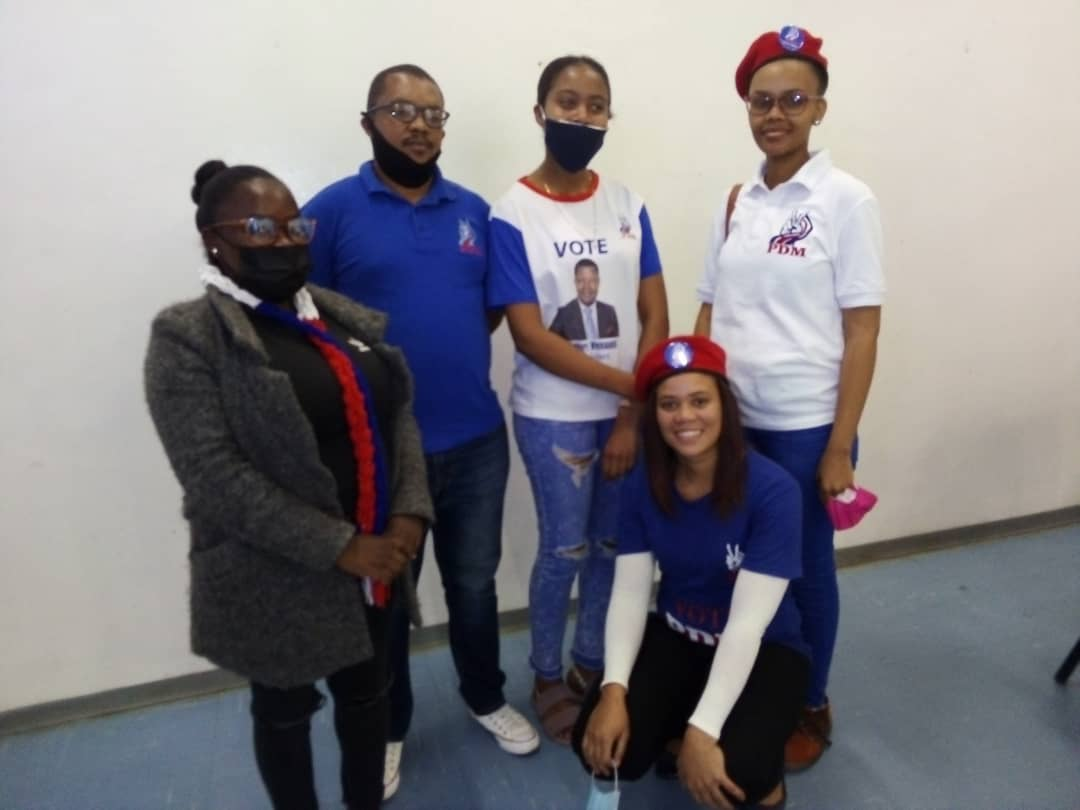 PDM elects maiden //Kharas youth leadership