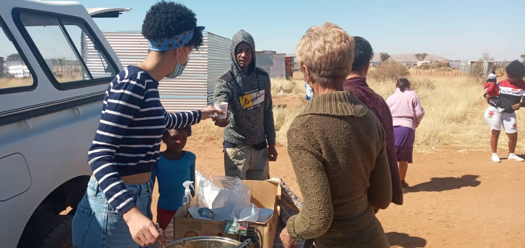 Young philanthropist feeds over 70