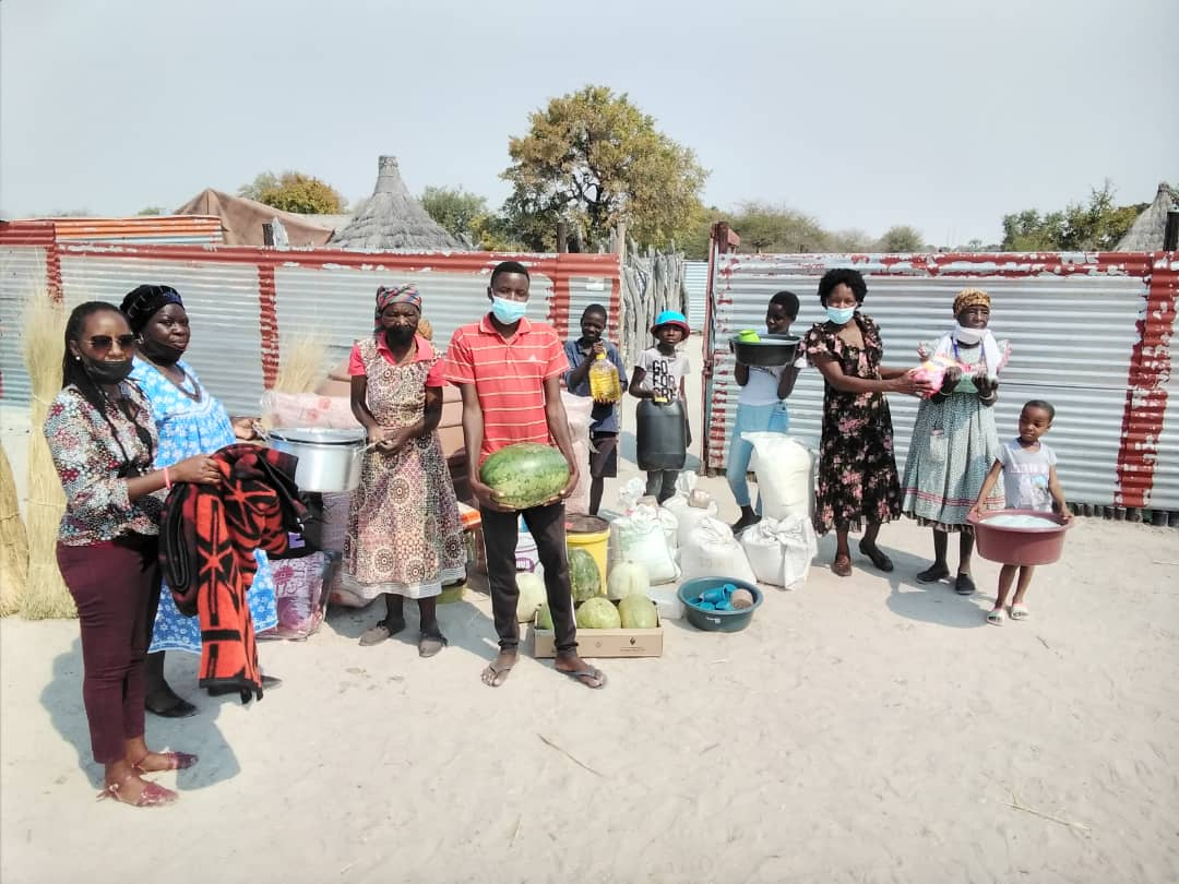 Community group helps fire victims